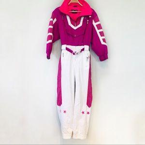Vintage Head puffer ski retro jumpsuit